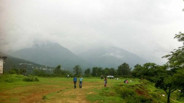 Scenery near Indpur, Himachal Pradesh