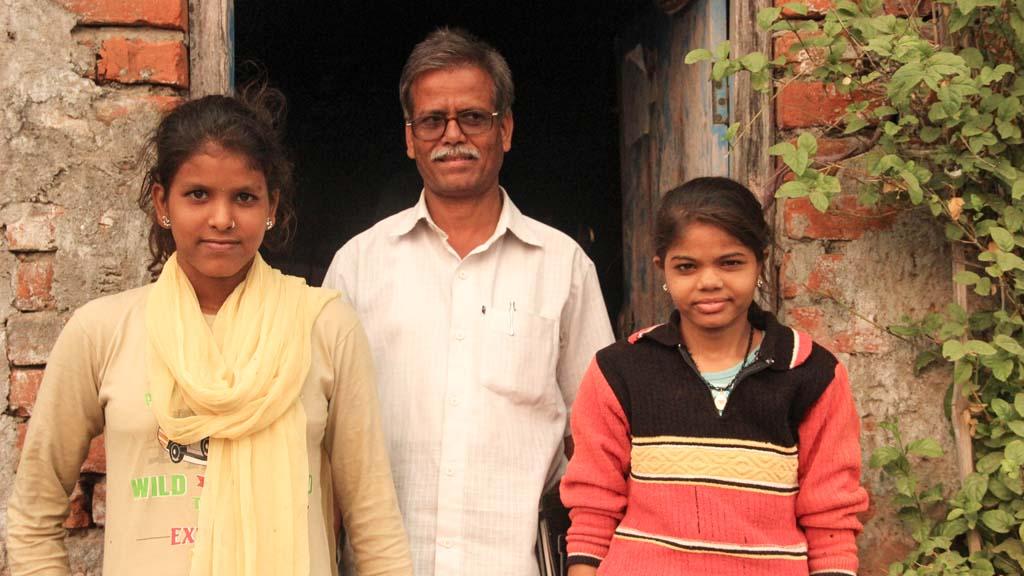 Nand Kishoreji and his Daughters