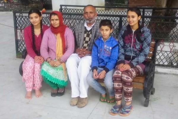 Pt. Arun Sharmaji and family.