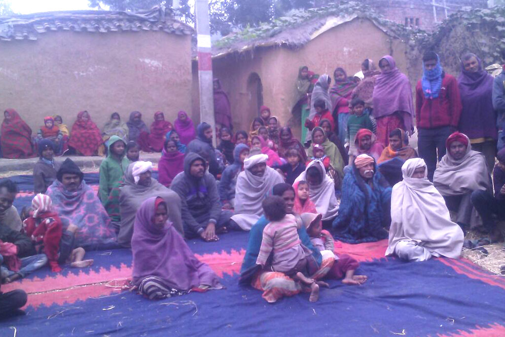 One-day Camp in Bihar Village