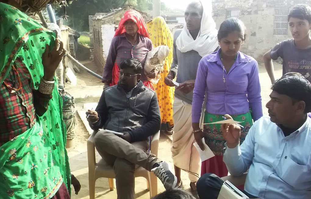 Medical Camp in Harirampura