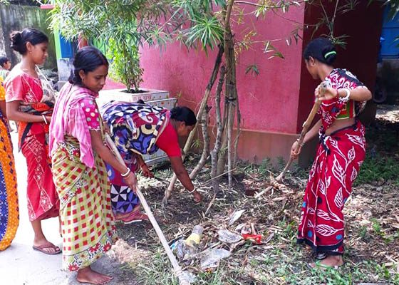 Swachhta Hi Seva in the Villages – Cleanliness is Service
